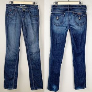 Hudson Straight Leg Denim Jeans